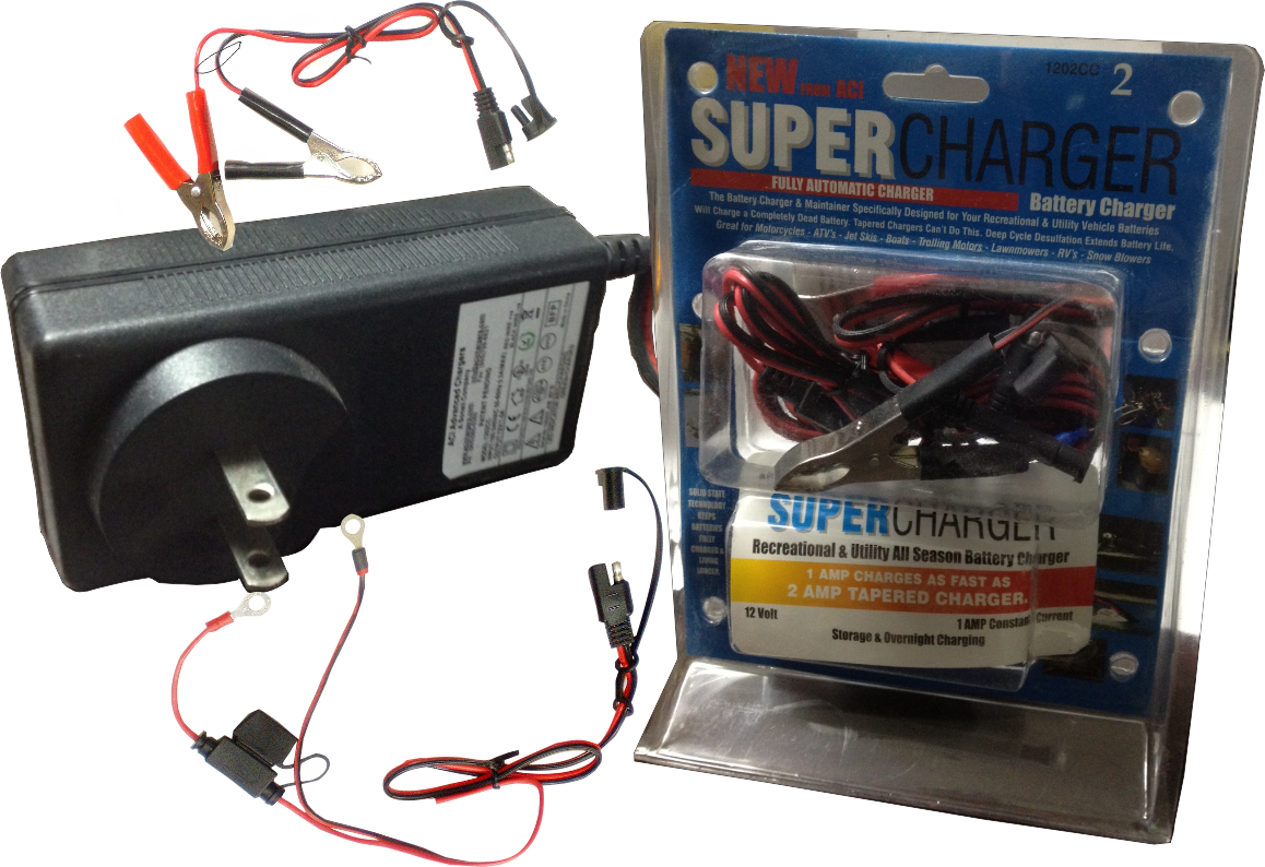 1202CC (12V, 1A) Battery Charger