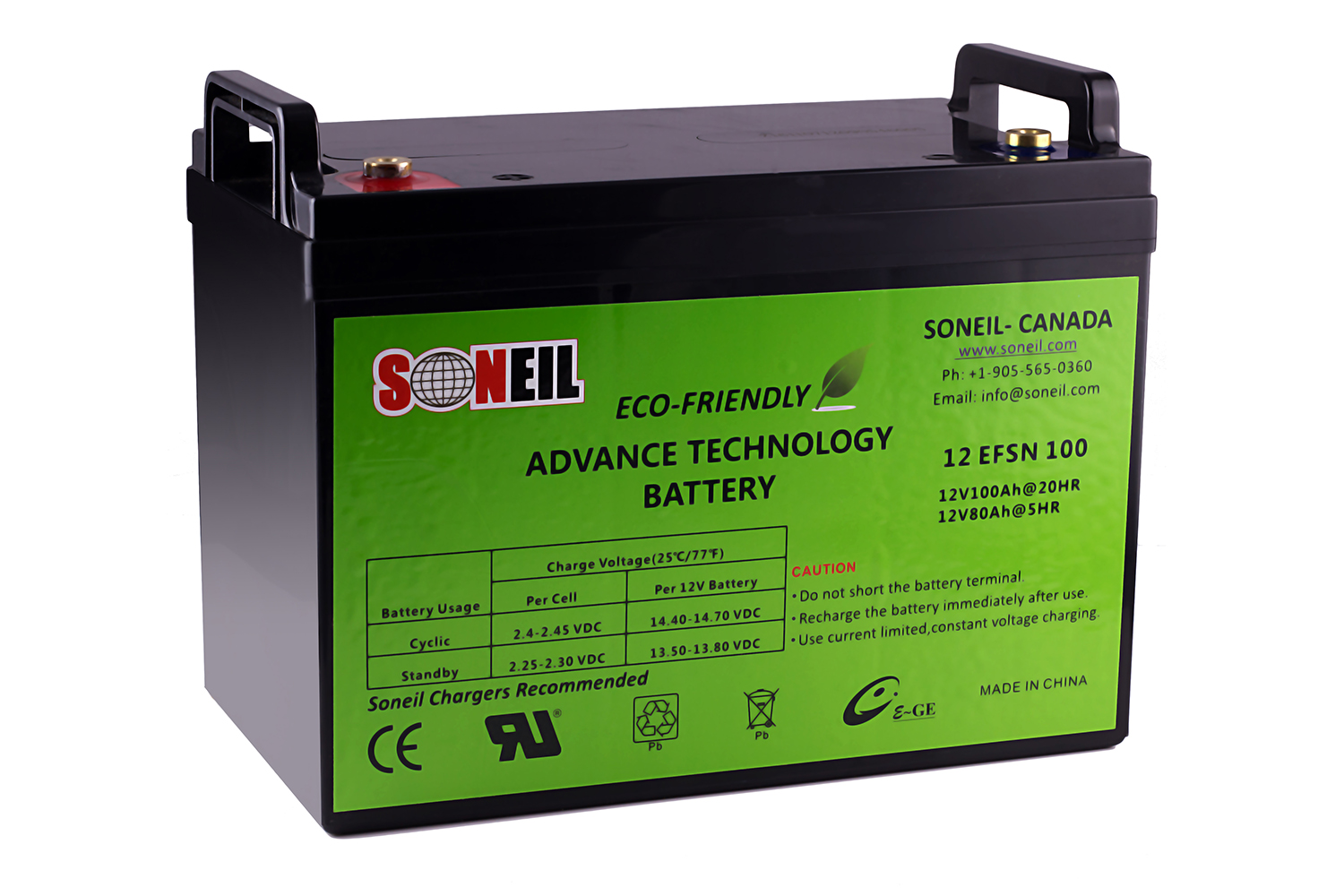 12V 100AH Advance Technology Battery