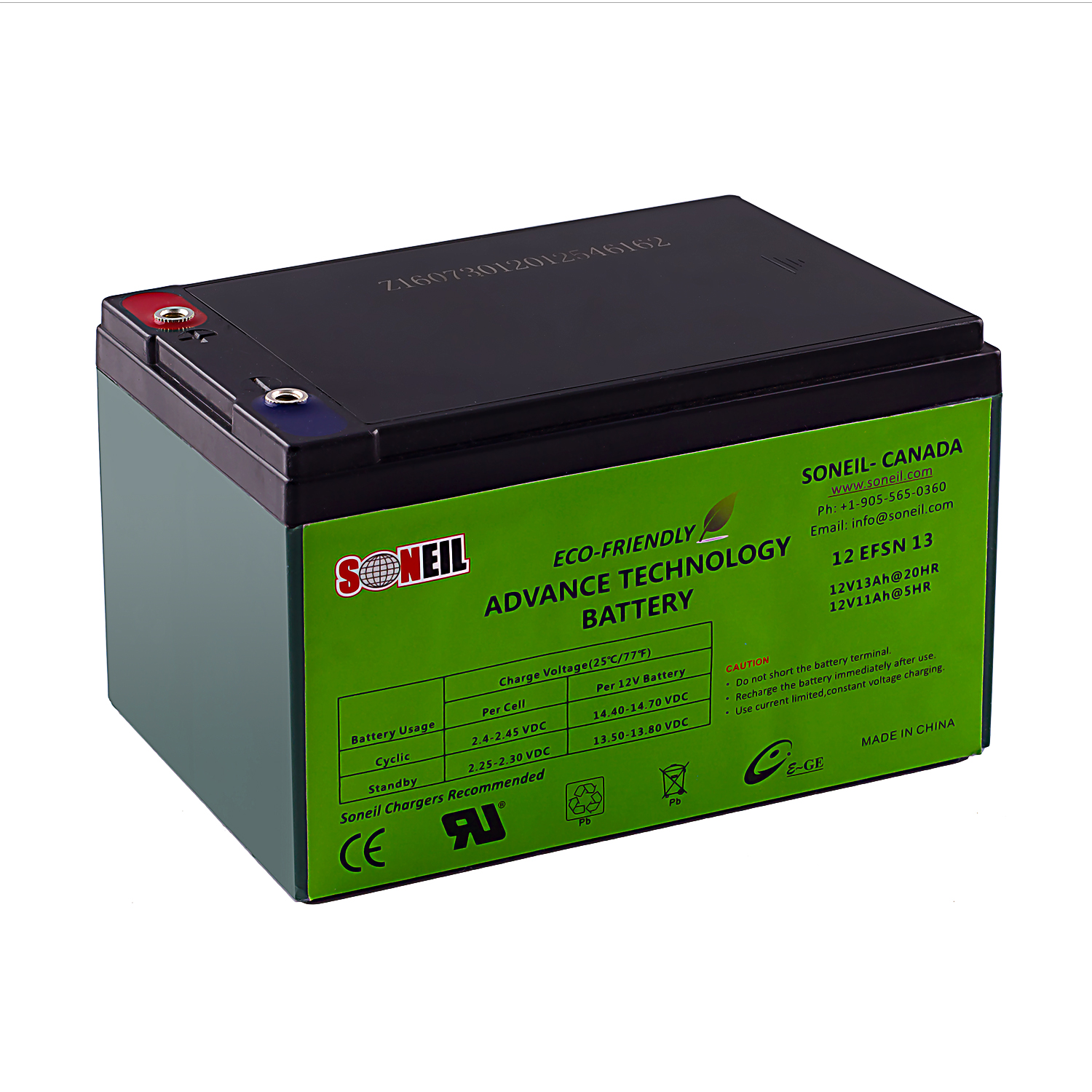 12V 13AH Advance Technology Battery