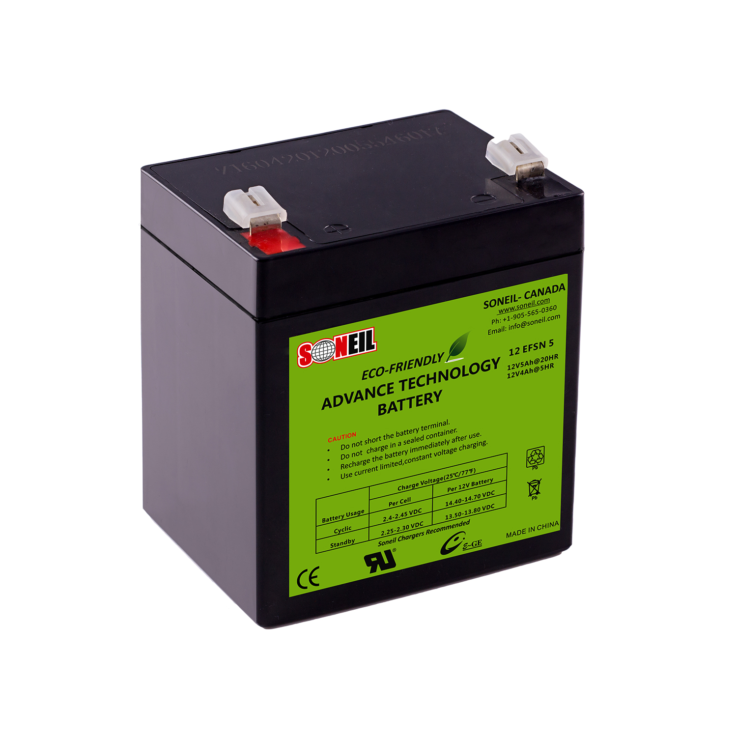 12V 5Ah Advance Technology Battery