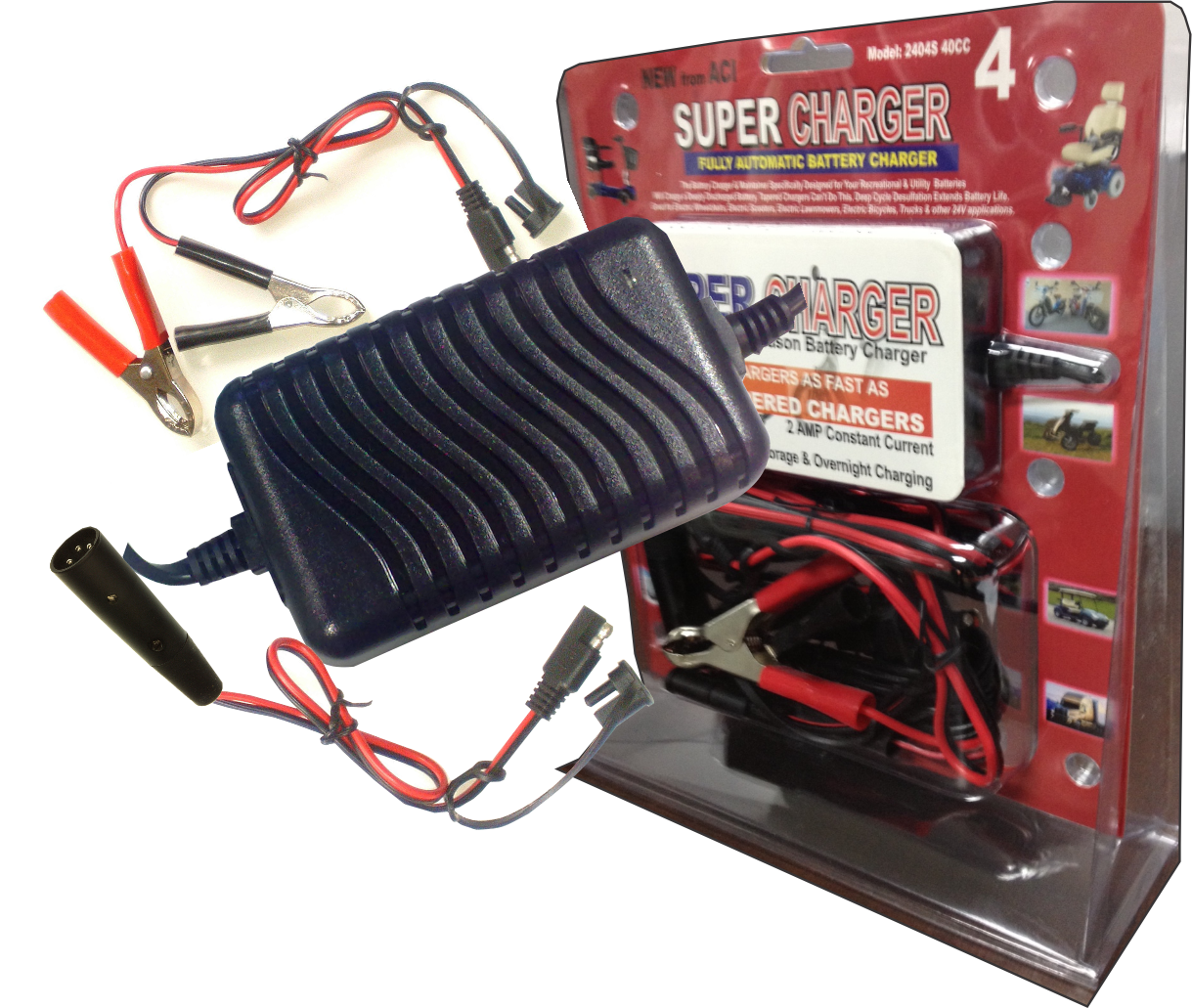 2404S 40CC (24V, 2A) Battery Charger