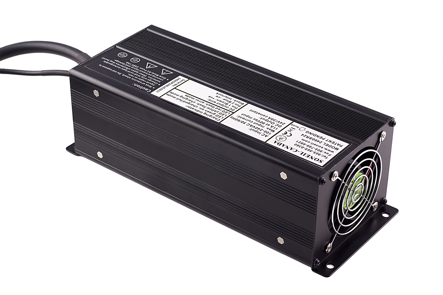 2460SR24 (24V, 30A) Battery Charger