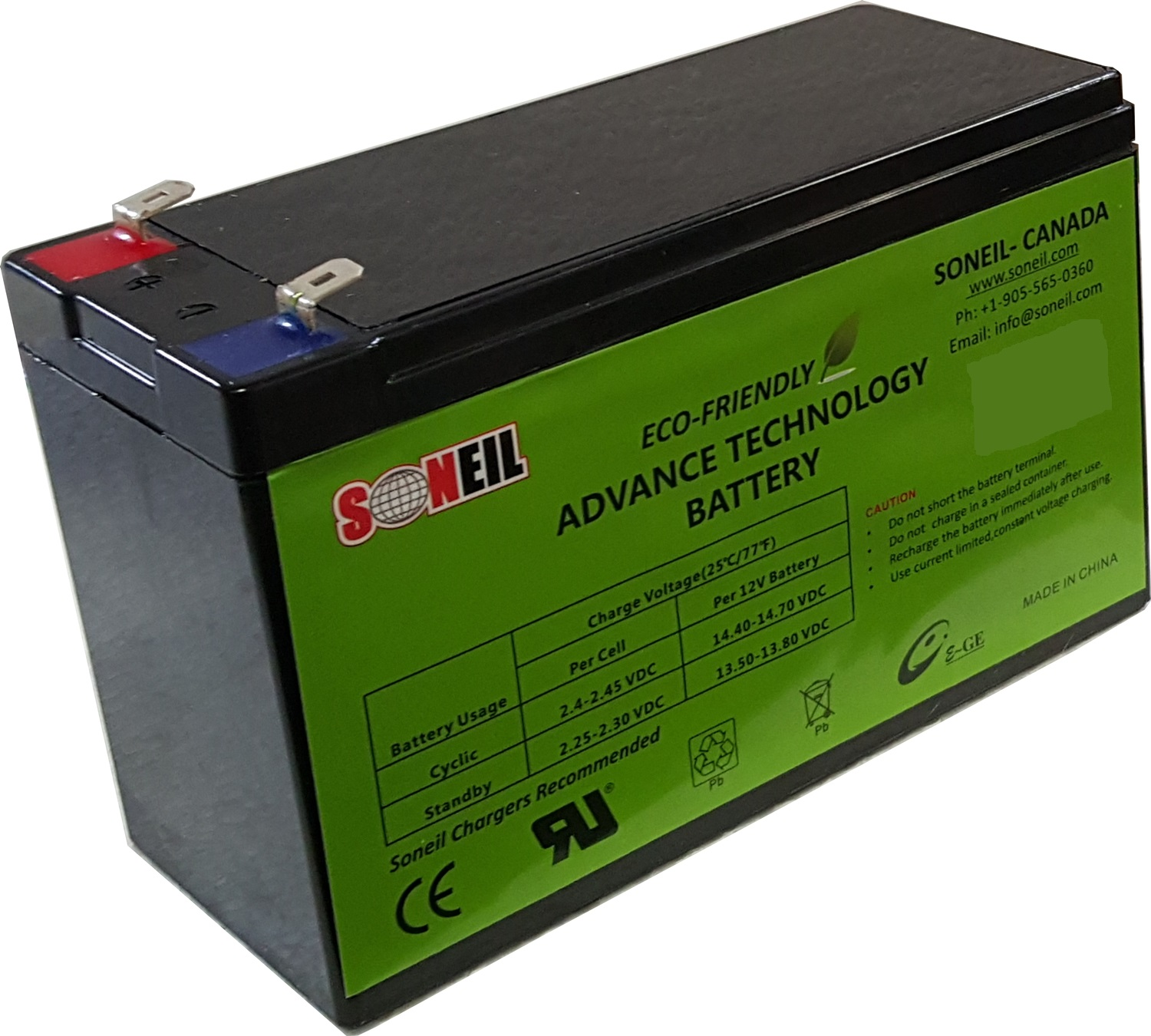 12V 15AH Advance Technology Battery