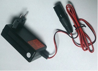 CS1202SR (12V, 1A) Euro Plug Battery Charger