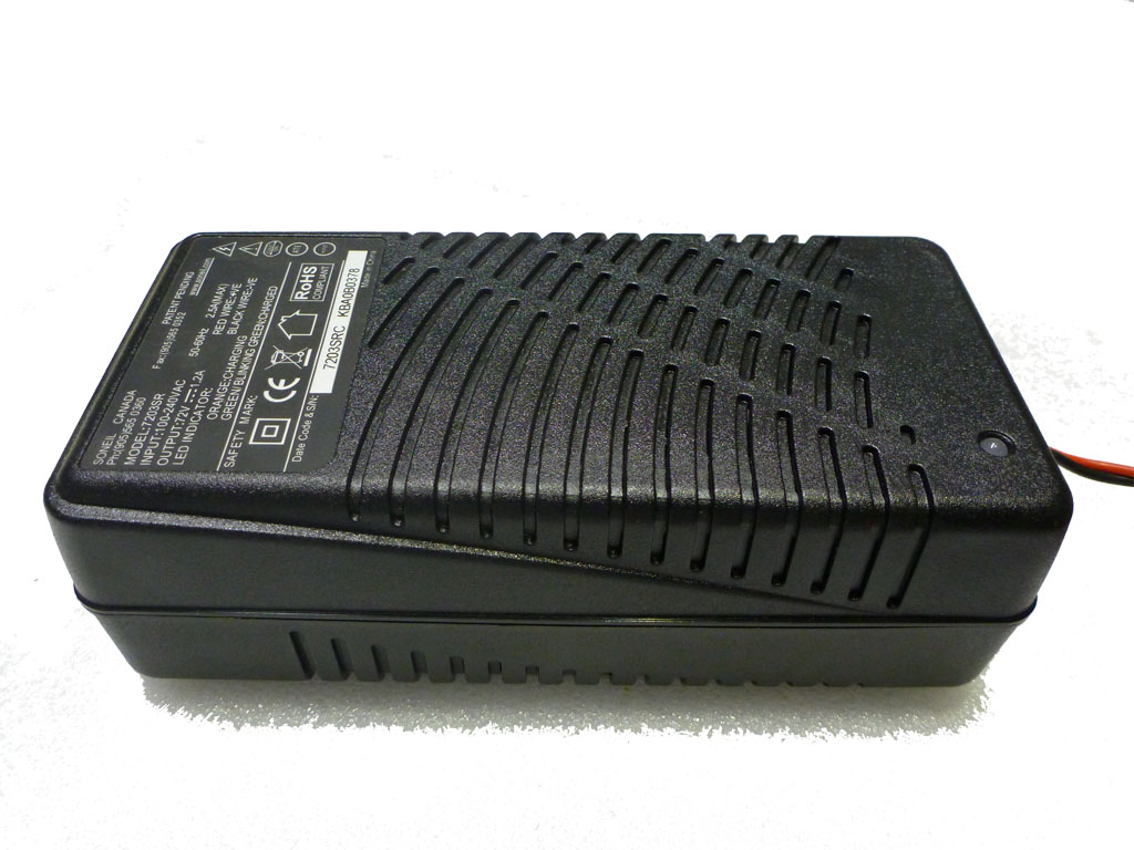 7203SR (72V, 1.2A) Battery Charger